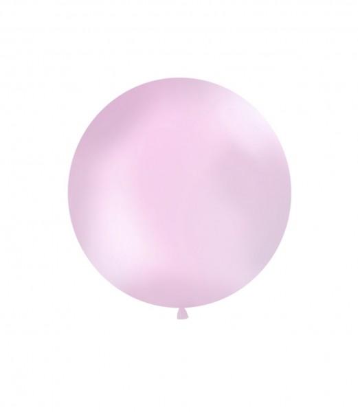 XXL-Luftballon rosa, Durchm. 1m (VERKAUF)
