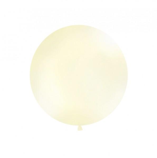 XXL-Luftballon creme, Durchm. 1m (VERKAUF)