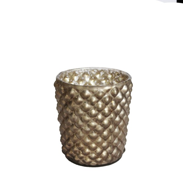 "Teelichthalter ""ELISA ANTIK GOLD"""