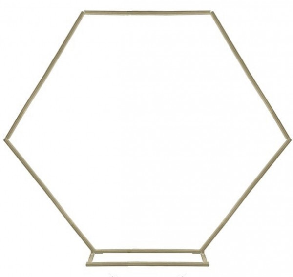 "Traubogen ""HEXAGON"", ca. 220 x 220cm"