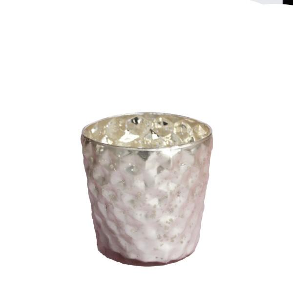 """Teelichthalter """"ELISA ROSE POWDER"""""""