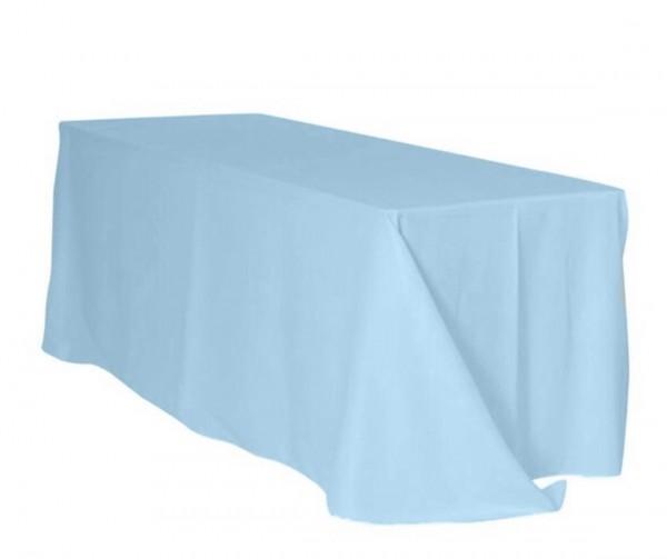 Tischdecke 225 x 390cm, hellblau