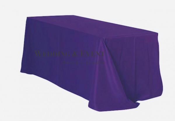 Tischdecke 225 x 390cm, lila