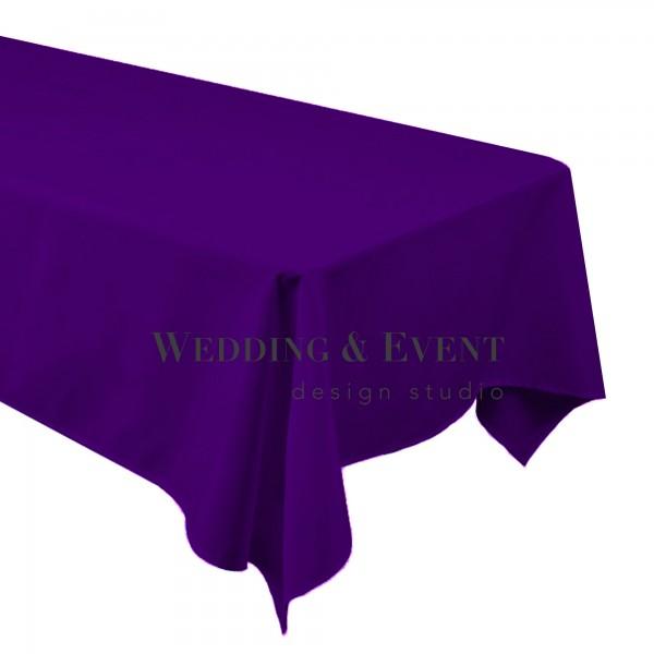 Tischdecke 130 x 220cm, lila
