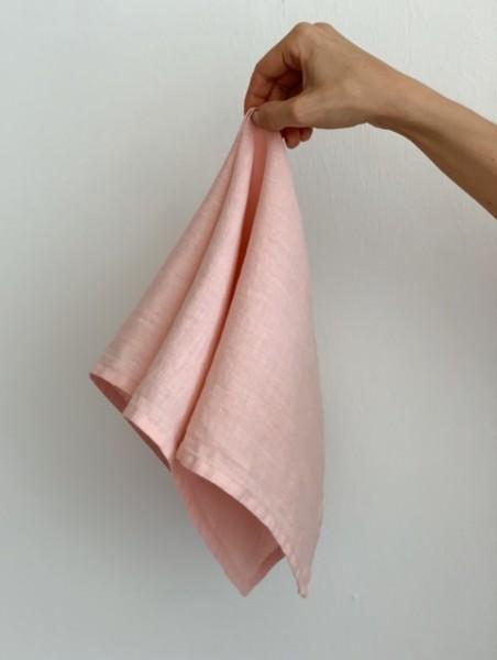 """Leinen-Serviette """"MARY ROSÉ"""", 50x50cm"""