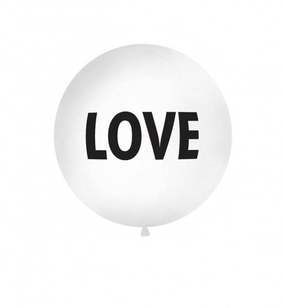 """XXL-Luftballon """"LOVE"""", Durchm. 1m (VERKAUF)"""