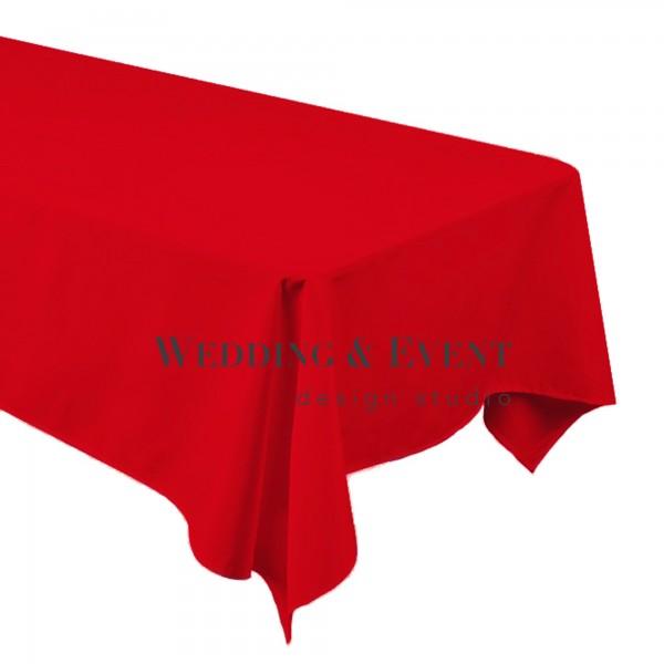 Tischdecke 130 x 220cm, rot