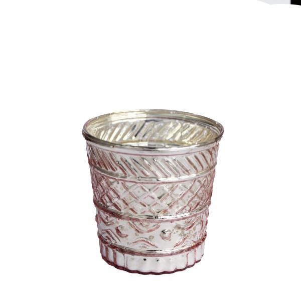 "Teelichthalter ""ELISA ROSE SHINY"""