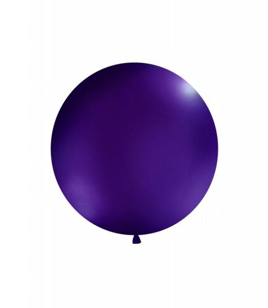 XXL-Luftballon lila, Durchm. 1m (VERKAUF)