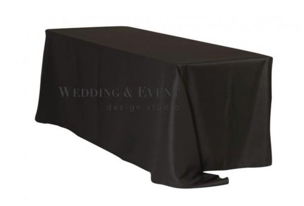 Tischdecke 225 x 390cm, schwarz