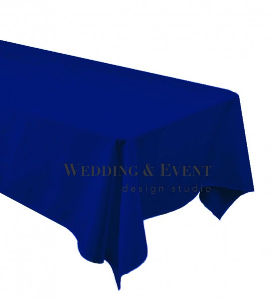 Tischdecke 130 x 220cm, royalblau