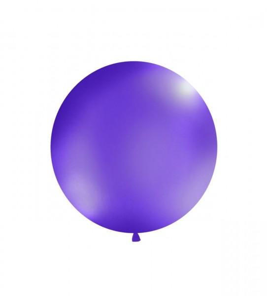 XXL-Luftballon violett, Durchm. 1m (VERKAUF)