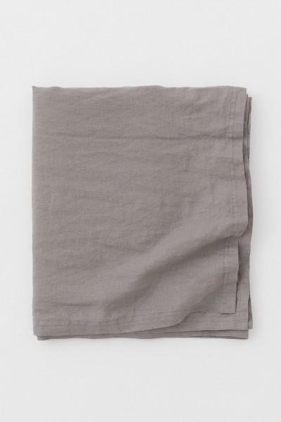 "Leinen-Tischdecke ""JOY GRAU"" 230 x 390cm"
