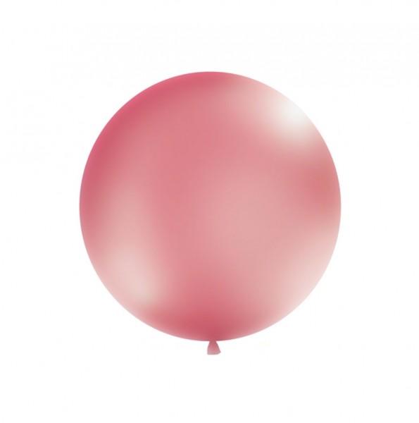 XXL-Luftballon metallic-fuchsia, Durchm. 1m (VERKAUF)